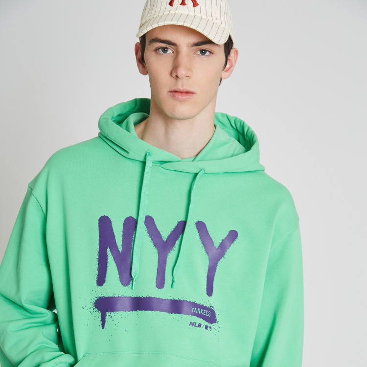 wholesale dealer 4f981 d9e6c NEW YORK YANKEES NYY COLOR DRAWING HOODIE | 31HDD3911-50G | MLB