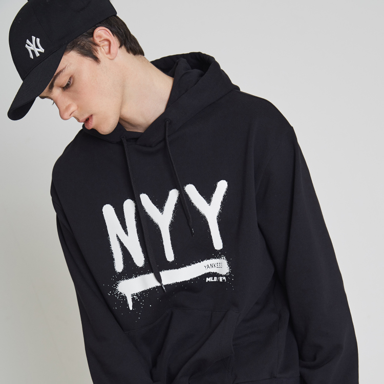 new concept be6cf 41eca NEW YORK YANKEES NYY COLOR DRAWING HOODIE | 31HDD3911-50L | MLB
