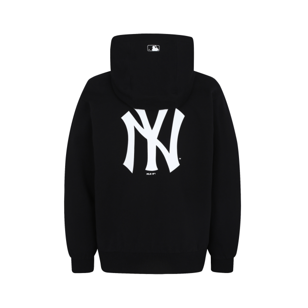 NEW YORK YANKEES BACK BIG LOGO POINT HOODIE