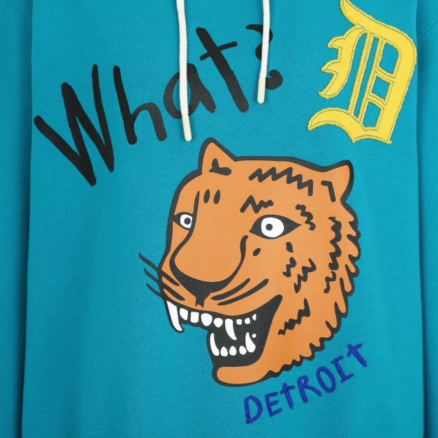 DETROIT TIGERS WHAT A TIGER HOODIE