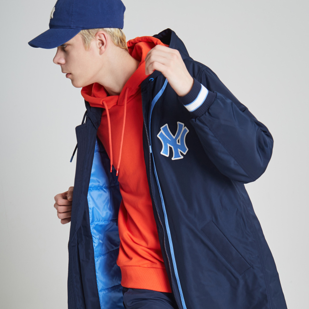 NEW YORK YANKEES COOPERS LONG BASEBALL PADDED JACKET