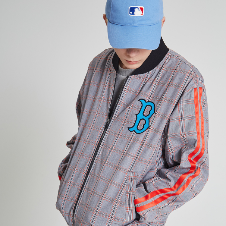 wholesale dealer 36348 0cd94 BOSTON RED SOX COOPERS TAPING CHECK BASEBALL JUMPER ...