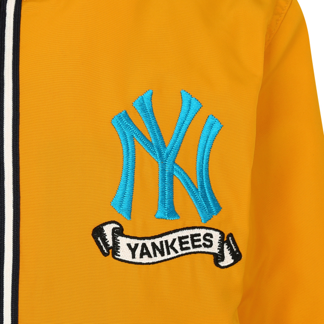 NEW YORK YANKEES ARTWORK POINT PADDING VARSITY JACKET