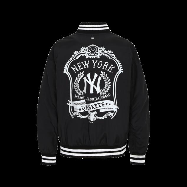 NEW YORK YANKEES FRAME PADDING VARSITY JACKET