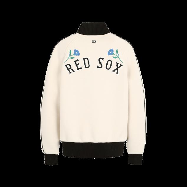BOSTON RED SOX FLOWER BASEBALL JUMPER
