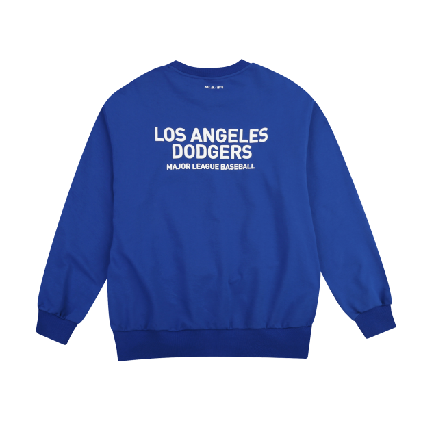LA DODGERS OVERFIT SIMPLE LOGO SWEATSHIRT