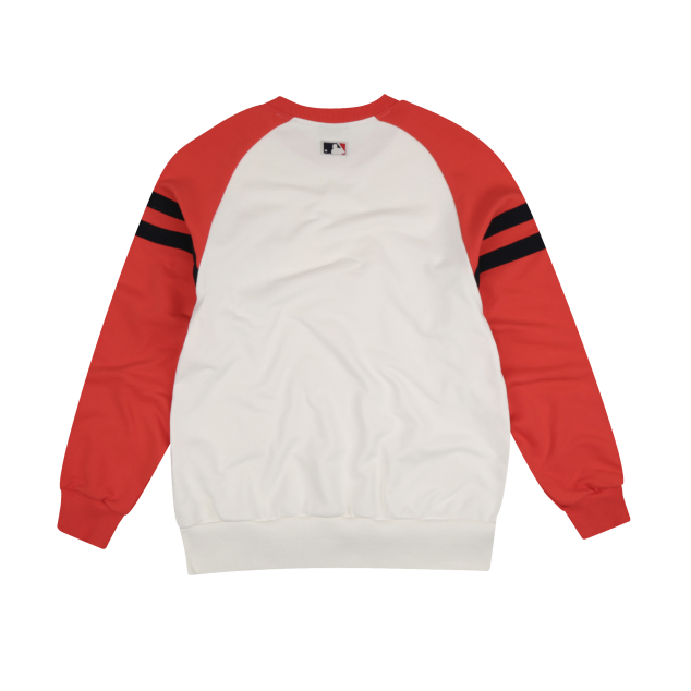 BOSTON RED SOX SLEEVE BICOLOR SIGNATURE LOGO SWEATSHIRT