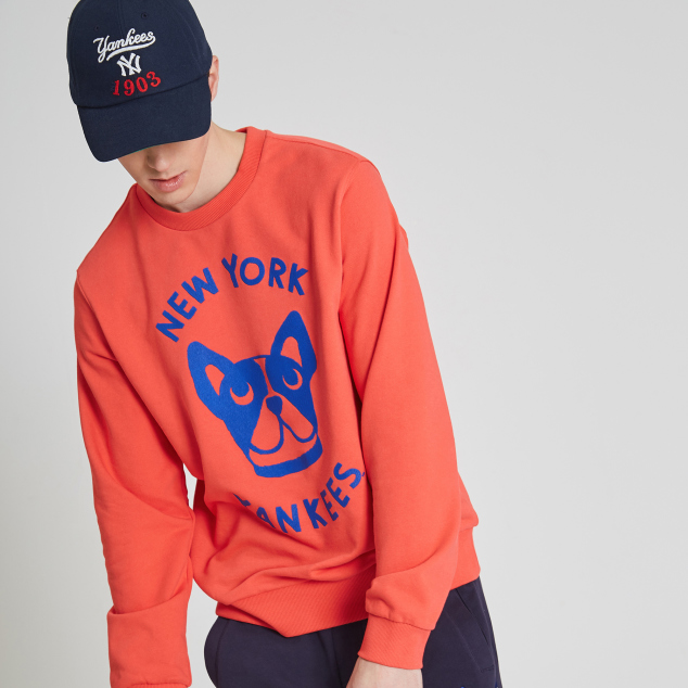 NEW YORK YANKEES Lazy BARK SWEATSHIRT