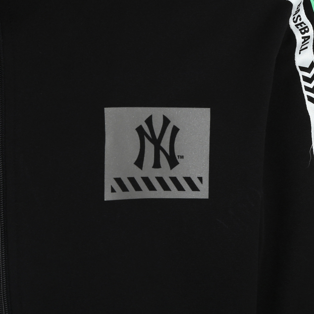 NEW YORK YANKEES LINE TAPING BASIC TRAINING ZIP-UP