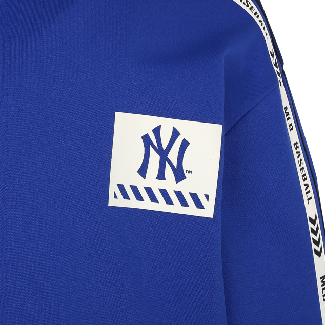 NEW YORK YANKEES LINE TAPING BASIC TRAINING ZIP-UP