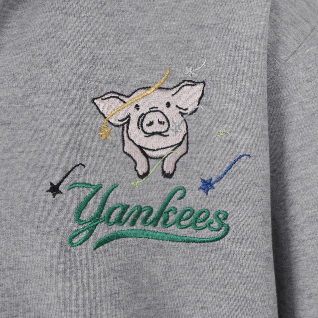 NEW YORK YANKEES LUCKY PIG TRAINING ZIP-UP