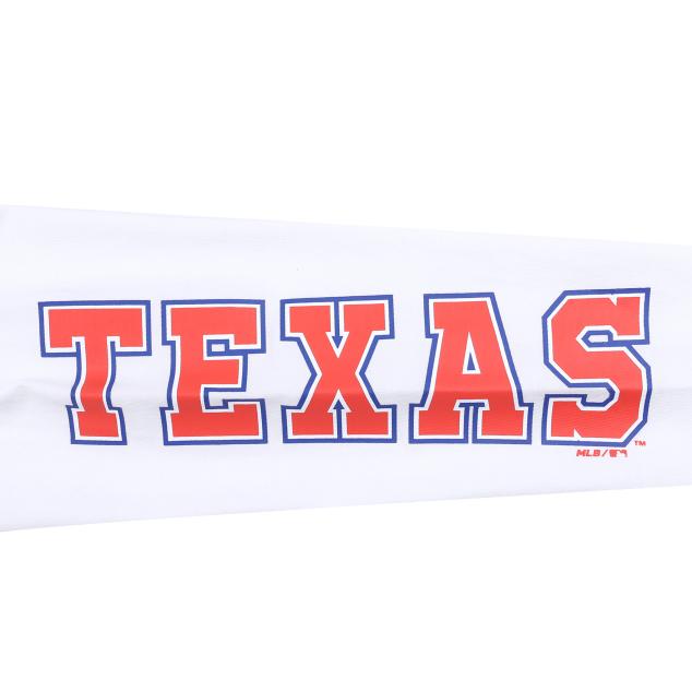 TEXAS RANGERS POCKET LETTERING LONG SLEEVE T-SHIRT