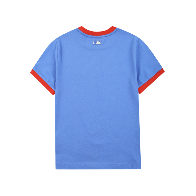 LA DODGERS SLEEVE COLOR POINT SHORT SLEEVE T-SHIRT