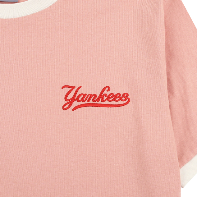 NEW YORK YANKEES SLEEVE COLOR POINT SHORT SLEEVE T-SHIRT