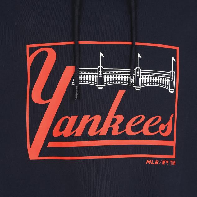NEW YORK YANKEES VINTAGE GRAPHIC HOODIE