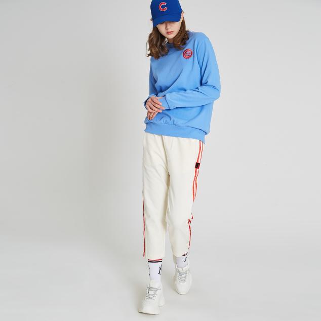 MLB-LIKE PHOTO TAPING CAPRI PANTS