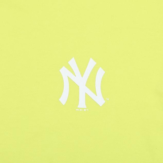 NEW YORK YANKEES LOGO POINT OVER FIT BASIC SHORT SLEEVE T-SHIRT