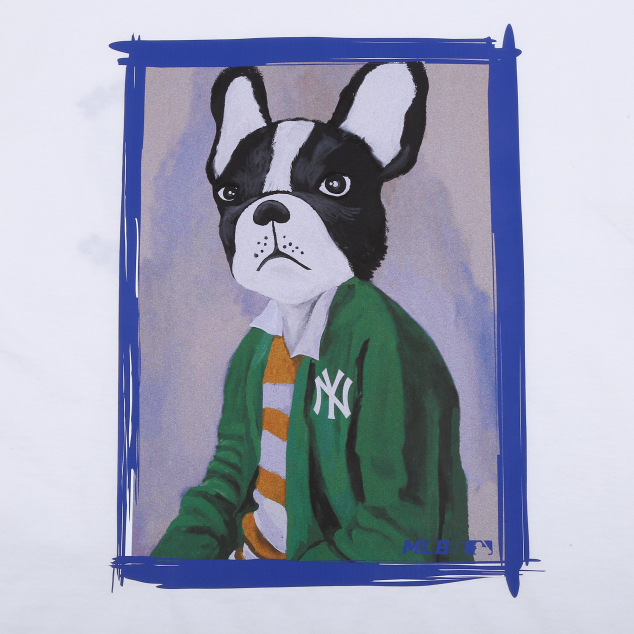 NEW YORK YANKEES CHIC BARK SHORT SLEEVE T-SHIRT