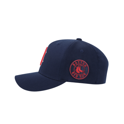 BOSTON RED SOX CIRCLE CURVED CAP