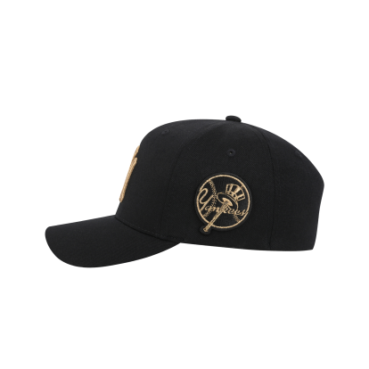 NEW YORK YANKEES CIRCLE CURVED CAP