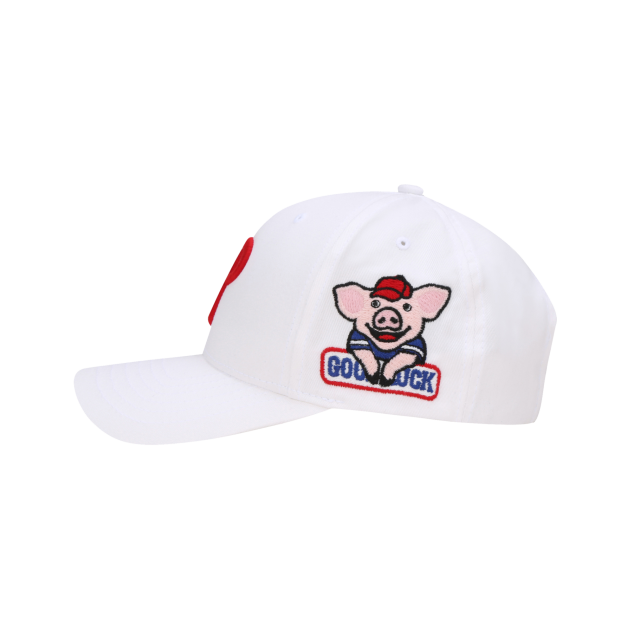 PHILADELPHIA PHILLIES HAPPY NEW YEAR LUCKY PIG ADJUSTABLE CAP