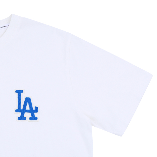 LA DODGERS BASIC LOGO SHORT SLEEVE T-SHIRT