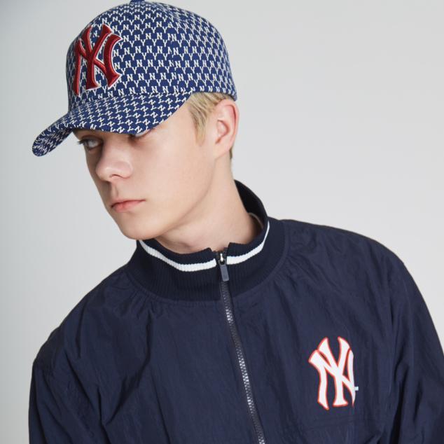 NEW YORK YANKEES MLB MONOGRAM ADJUSTABLE CAP
