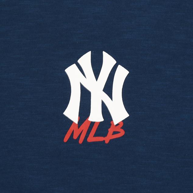 NEW YORK YANKEES BASE LOGO SHORT SLEEVE T-SHIRT