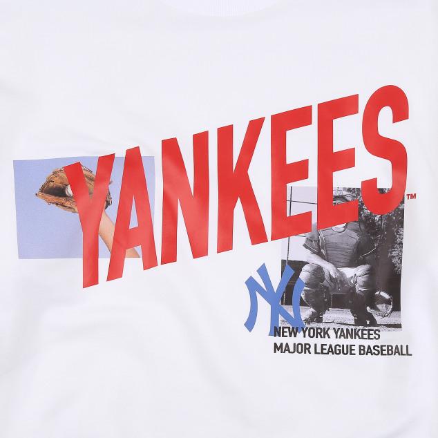 NEW YORK YANKEES VINTAGE MIX LETTERING SWEATSHIRT