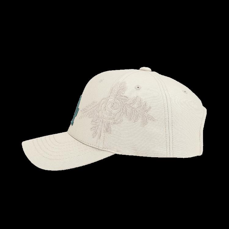 b1a06da90 LA DODGERS FLOWER EMBOSSED ADJUSTABLE CAP