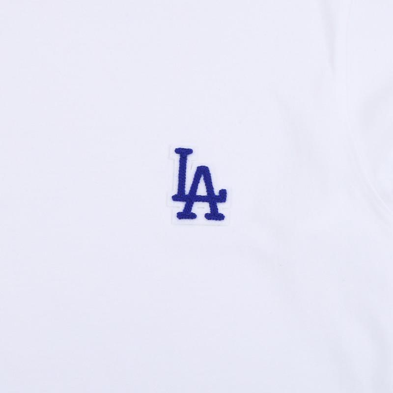 엠엘비(MLB) LA다저스 베이직 로고 긴팔 티셔츠(WHITE)