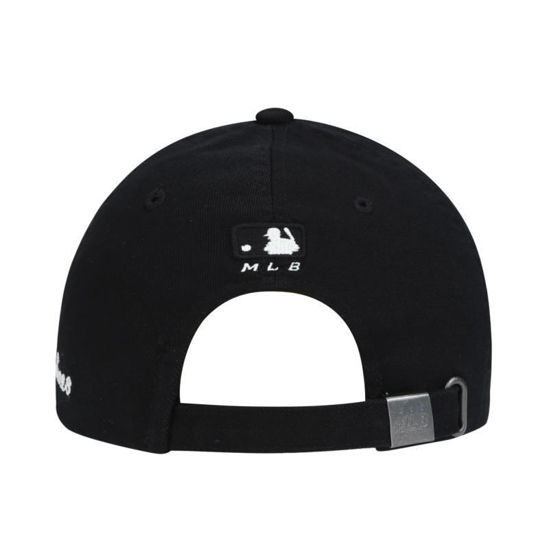 엠엘비(MLB) 컬시브 사이드 볼캡 NY(BLACK)