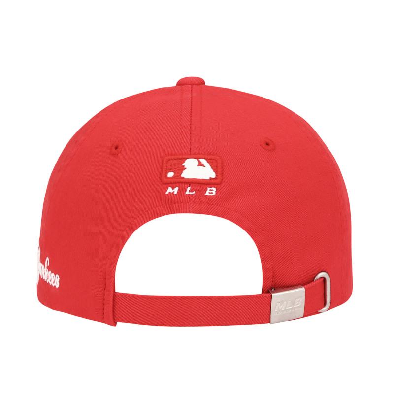 엠엘비(MLB) 컬시브 사이드 볼캡 NY(RED)