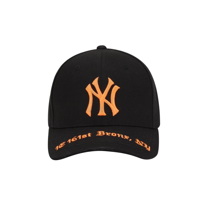 엠엘비(MLB) 어드레스 커브조절캡 NY(ORANGE)
