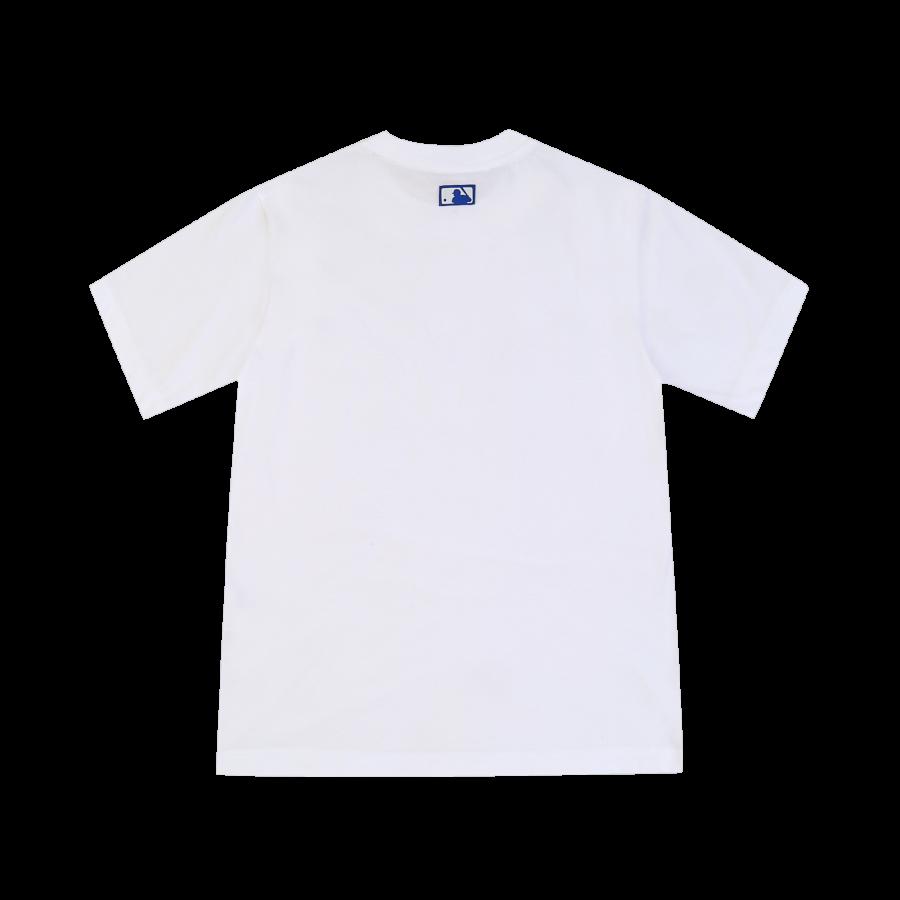 엠엘비(MLB) 베이직 스몰로고 티셔츠 LA (WHITE)