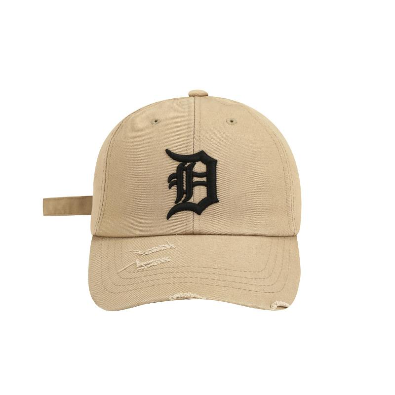 엠엘비(MLB) 팀로고 데미지 볼캡 D (BEIGE)
