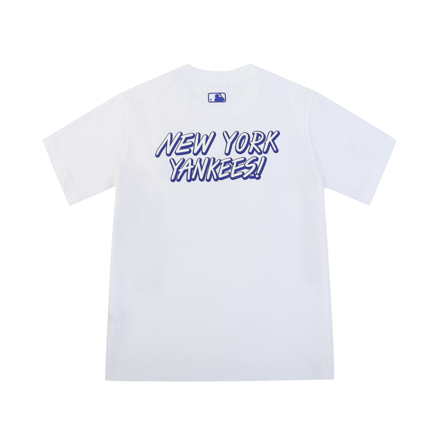 베이스 로고 반팔 티셔츠 뉴욕양키스
