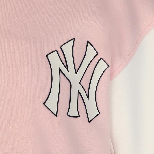 소매 배색 베이스볼 점퍼 뉴욕양키스
