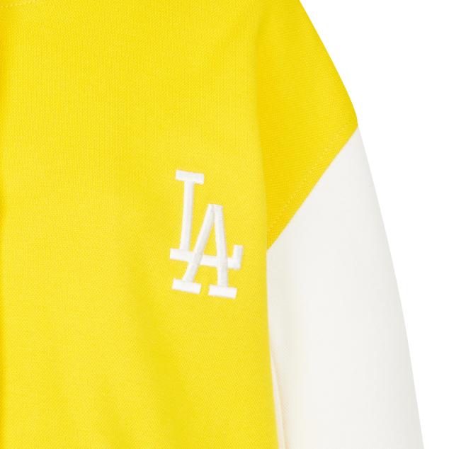 MLB X DISNEY 미키마우스 배색 베이스볼 점퍼 LA다저스