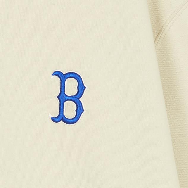 MLB X DISNEY 뒤 빅 미키마우스 맨투맨 보스턴 레드삭스
