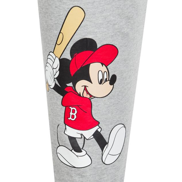 MLB X DISNEY 미키마우스 트레이닝 팬츠 보스턴 레드삭스