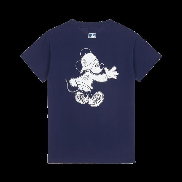MLB X DISNEY 반팔 티셔츠 보스턴 레드삭스