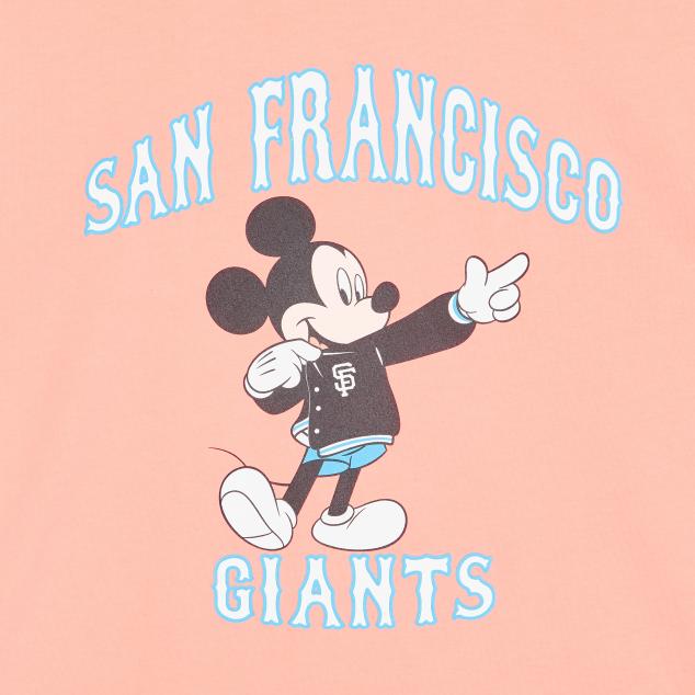 MLB X DISNEY 오버핏 반팔 티셔츠 샌프란시스코 자이언츠