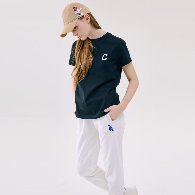 MLB X DISNEY 반팔 티셔츠 클리블랜드 인디언스