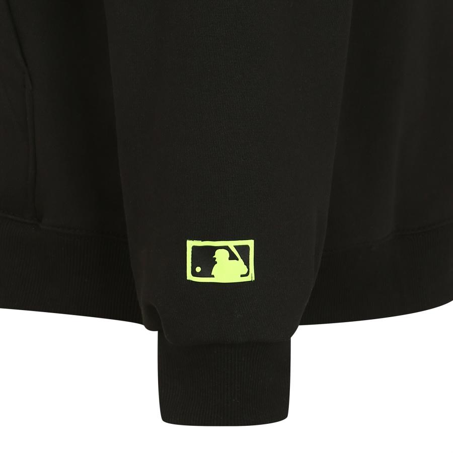엠엘비(MLB) 팝콘21 오버핏 후드 NY (BLACK)
