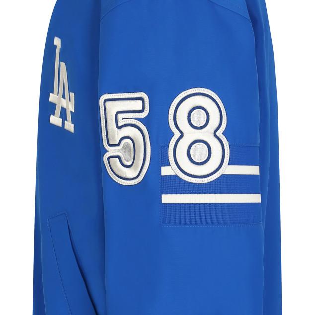 소매 포인트 베이스볼 점퍼 LA다저스