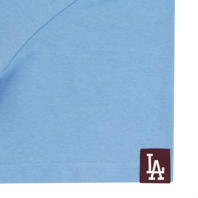 소매 라벨 반팔 티셔츠 LA다저스