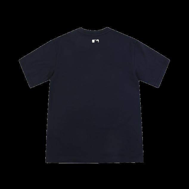 소매 라벨 반팔 티셔츠 뉴욕양키스