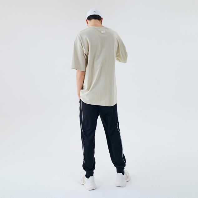 포켓자수 반팔 티셔츠 뉴욕양키스