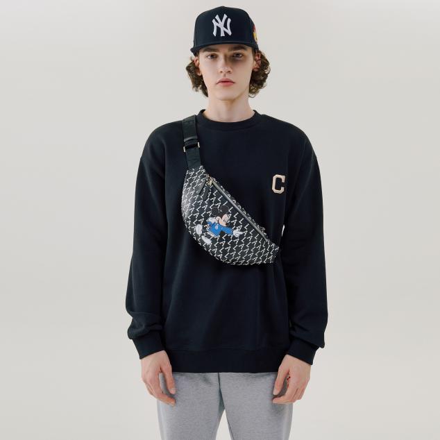 MLB x DISNEY 모노그램 힙색 LA다저스